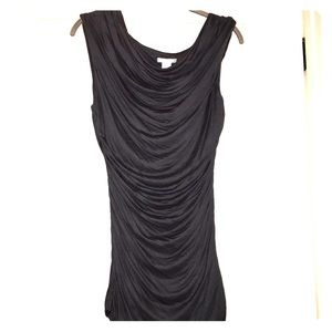 H&M sleeveless ruched top